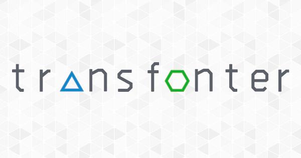 Transfonter — online @font-face generator
